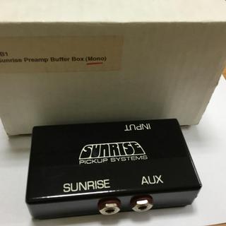 SUNRISE  SB-1(pre amp)(エフェクター)