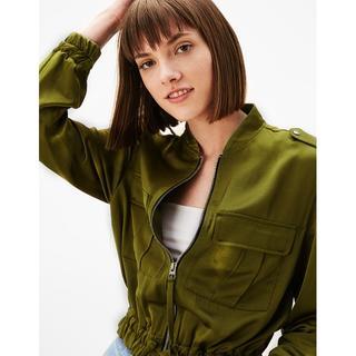 ザラ(ZARA)の新品  Bershka ベルシュカのジップアップジャケット    Bershka(その他)