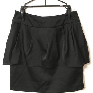 マーキュリーデュオ(MERCURYDUO)のMERCURY DUO  スカート ブラック(ミニスカート)