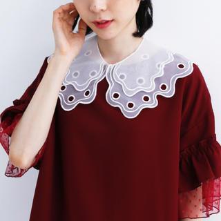 メルロー(merlot)の付け襟2(つけ襟)