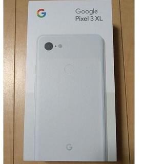 アンドロイド(ANDROID)のpixel3 XL 128GB  US版 eSIM 新品 未開封(スマートフォン本体)