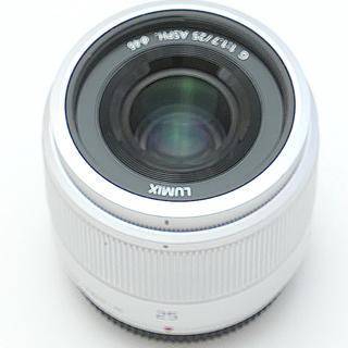 パナソニック(Panasonic)のパナソニック25mmf1.7シルバー(レンズ(単焦点))