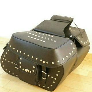 牛厚革サドルバッグ(装備/装具)