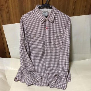 ティンバーランド(Timberland)の中古 ティンバーランド チェックネルシャツ XL ピンクベージュ(シャツ)
