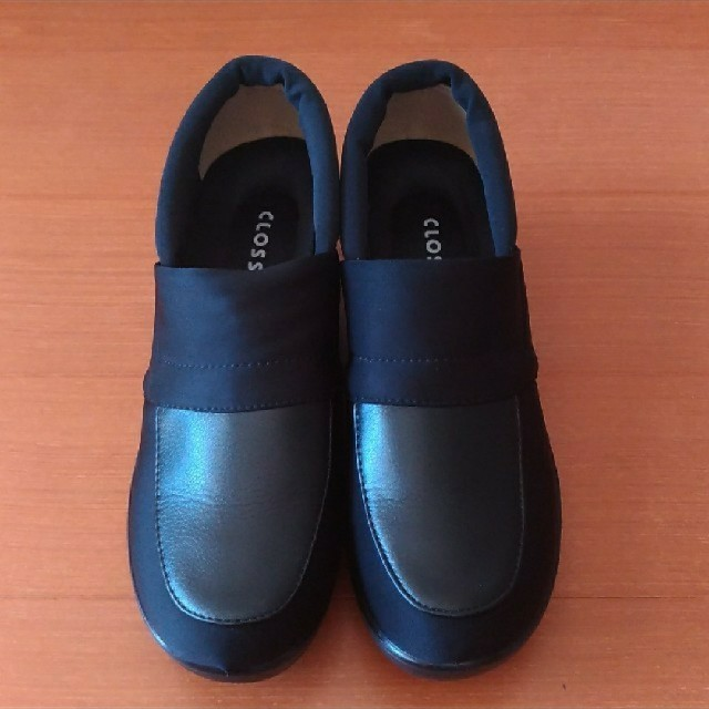 しまむら(シマムラ)のスニーカー 厚底☆黒black 23.0cm☆CLOSSHI レディースの靴/シューズ(スニーカー)の商品写真