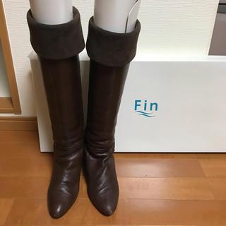フィン(Fin)の値下げ中!ブーツ fin(ブーツ)