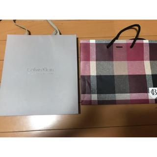 カルバンクライン(Calvin Klein)のブランドショップ袋(ショップ袋)
