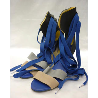 アディダス(adidas)のadidas originals アディダス サンダル 紐 V22012ウェッジ(スニーカー)