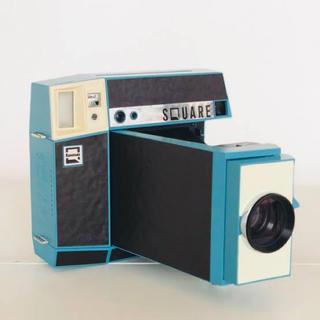 キヤノン(Canon)の《非売品》ロモインスタント スクエア ブルー(フィルムカメラ)