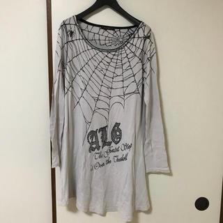 アルゴンキン(ALGONQUINS)のアルゴンキン 長袖ロングプリントシャツ(Tシャツ(長袖/七分))