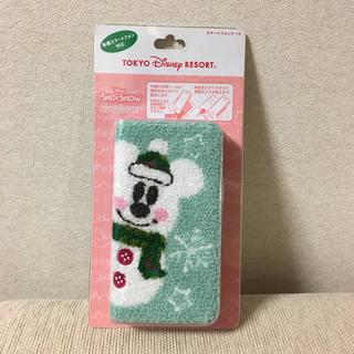 Disney - スマートフォンケース ミッキー クリスマス