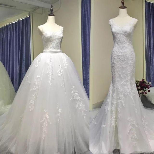 2wayウェディングドレス マーメイドドレス の通販 By Beauty Dress