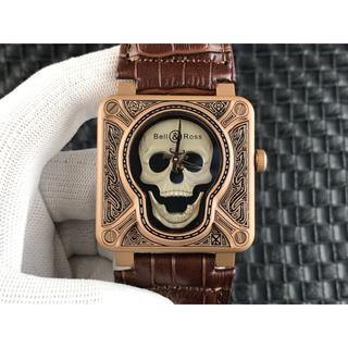 ベルアンドロス(Bell & Ross)のベルアンドロス 幽霊 電子式 腕時計 BR本革ベルト(レザーベルト)
