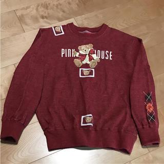 ピンクハウス(PINK HOUSE)の★ PINKHOUSE ピンクハウス レディース L トレーナー 大人(トレーナー/スウェット)