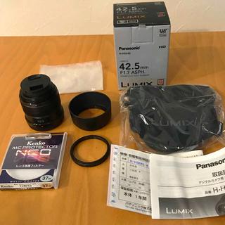 パナソニック(Panasonic)のLUMIX G 42.5mm F1.7 ASPH(レンズ(単焦点))
