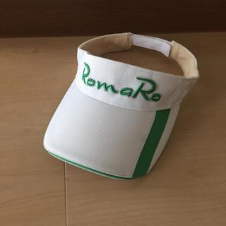 ロマロ(RomaRo)のRomaRo ロマロ バイザー ゴルフ メンズ(サンバイザー)