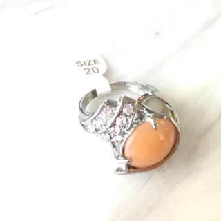 橙ストーンリング(リング(指輪))
