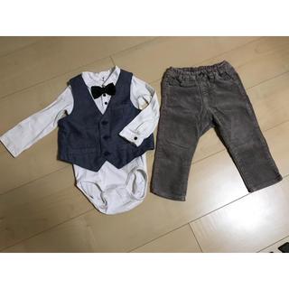 エイチアンドエム(H&M)のフォーマル  男の子 セット 80(セレモニードレス/スーツ)