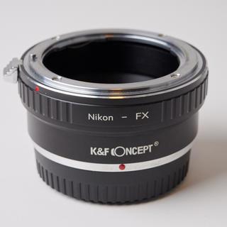 フジフイルム(富士フイルム)のK&F Concept マウントアダプター ニコン-フジ(レンズ(単焦点))