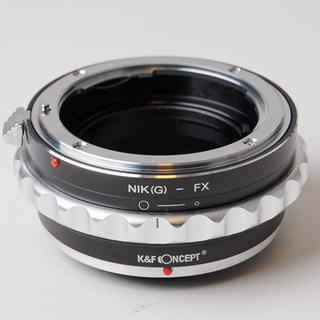フジフイルム(富士フイルム)のK&F Concept マウントアダプター ニコンGFX-フジX(レンズ(単焦点))