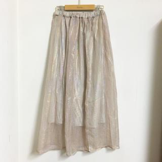 ケービーエフ(KBF)の☆新品☆ KBF オーロラマキシスカート(ロングスカート)