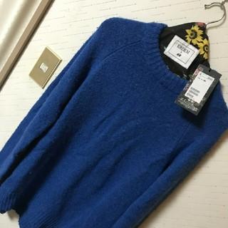 アーデム(Erdem)の新品♥️ ハンガーカバー付き H&M×ERDEM コラボ モヘアニット Mサイズ(ニット/セーター)