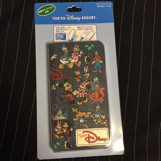 ディズニー(Disney)の新品 ディズニーリゾート チームディズニー スマホケース 35周年(モバイルケース/カバー)