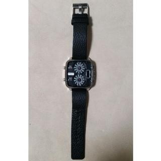 ディーゼル(DIESEL)のディーゼル/DIESEL 「DZ-7302」腕時計 少しお値下げ致しました(レザーベルト)
