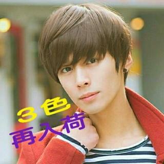 キャンペーン1580円→1380円♪男装、コスプレにも!(ショートストレート)