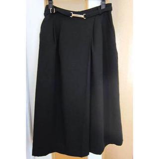 アンドクチュール(And Couture)の衣類40/サイズ36(M):And Couture 黒色スカンツ ガウチョ(その他)