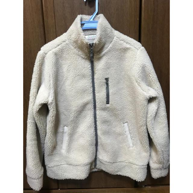 しまむら(シマムラ)のハイネック ボアブルゾン Lサイズ レディースのジャケット/アウター(ブルゾン)の商品写真