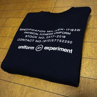 ユニフォームエクスペリメント(uniform experiment)のuniform experiment UEN PHYSICAL FITNESS(スウェット)