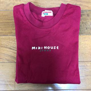 ミキハウス(mikihouse)の未着用  140  ミキハウス  長袖Tシャツ  ロンT(Tシャツ/カットソー)