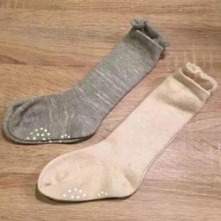 ムジルシリョウヒン(MUJI (無印良品))の無印良品 ハイソックス 13-15cm 2足セット 靴下(靴下/タイツ)