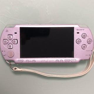 プレイステーションポータブル(PlayStation Portable)のPSP 2000 ラベンダーパープル ワンセグ付(携帯用ゲーム本体)