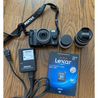 ペンタックス(PENTAX)のペンタックス Q10 ブラック ズームレンズキット トイカメラ(ミラーレス一眼)
