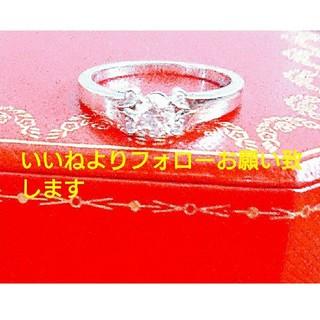 カルティエ(Cartier)の【美品 新品仕上げ】Cartier バレリーナ  14号  (リング(指輪))