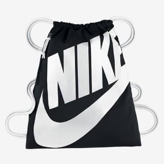 ナイキ(NIKE)のナイキ ナップサック ブラック&ホワイト 新品♪ 1点(バッグパック/リュック)