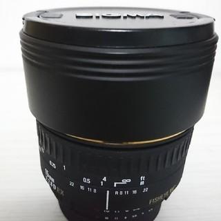 シグマ(SIGMA)のシグマ 15ミリ 魚眼 ニコン用(レンズ(単焦点))