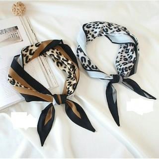 ザラ(ZARA)の~新品 レオパード スカーフ ~ヒョウ柄 (バンダナ/スカーフ)