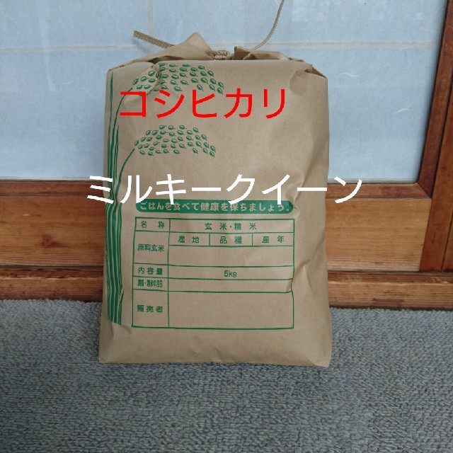 新米です!白米5㎏ 食品/飲料/酒の食品(米/穀物)の商品写真