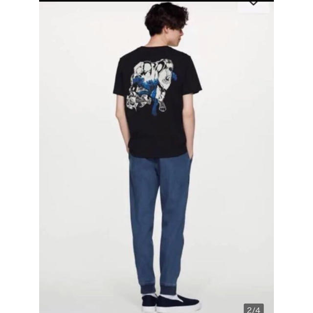 GU(ジーユー)のGU ジーユー デニムジョガーパンツ M メンズのパンツ(デニム/ジーンズ)の商品写真