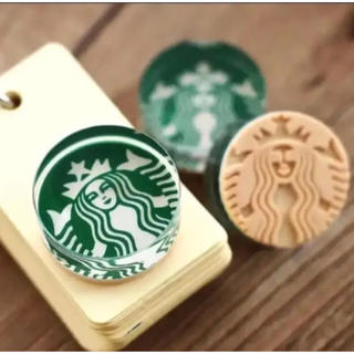 スターバックスコーヒー(Starbucks Coffee)の【新品未使用】スタバ スタンプ 判子(印鑑/スタンプ/朱肉)