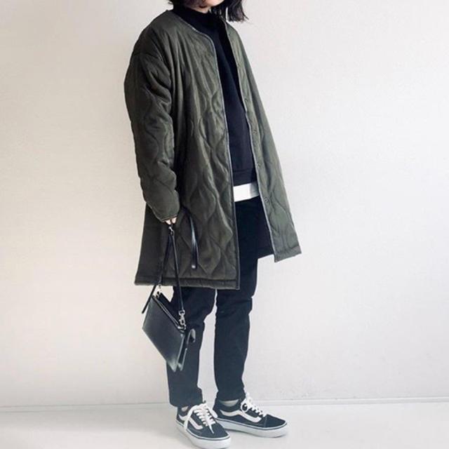 しまむら(シマムラ)のしまむら キルティングコート レディースのジャケット/アウター(ロングコート)の商品写真