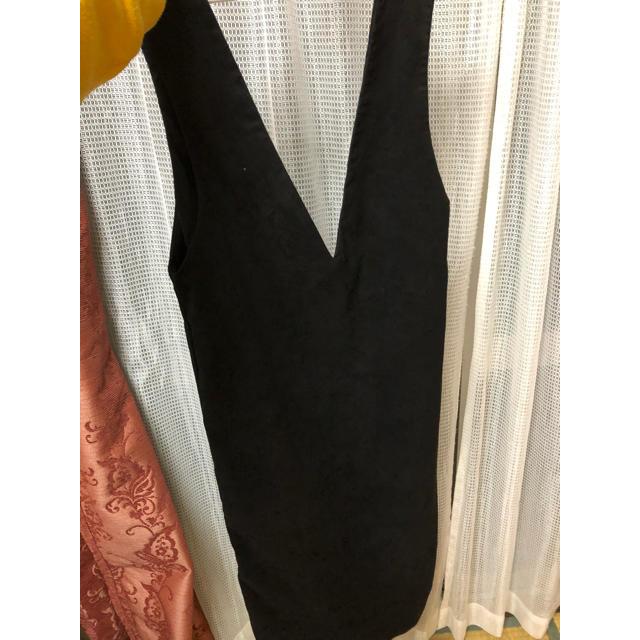 GU(ジーユー)のジャンパースカート レディースのワンピース(ひざ丈ワンピース)の商品写真