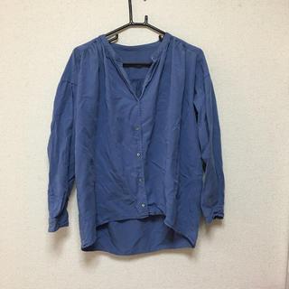 ビューティアンドユースユナイテッドアローズ(BEAUTY&YOUTH UNITED ARROWS)のブルー シャツ(シャツ/ブラウス(長袖/七分))