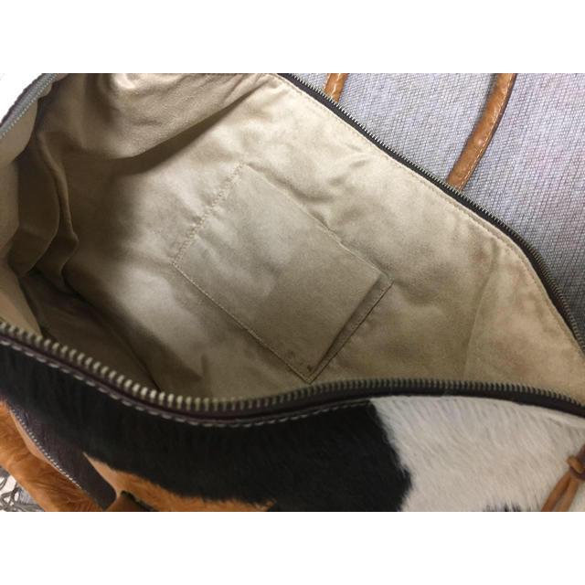 H.P.FRANCE(アッシュペーフランス)の☆ハラコ&レザーのバッグ☆ レディースのバッグ(ショルダーバッグ)の商品写真