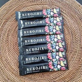 ファビウス(FABIUS)の黒汁☆KUROJIRU☆7包(ダイエット食品)