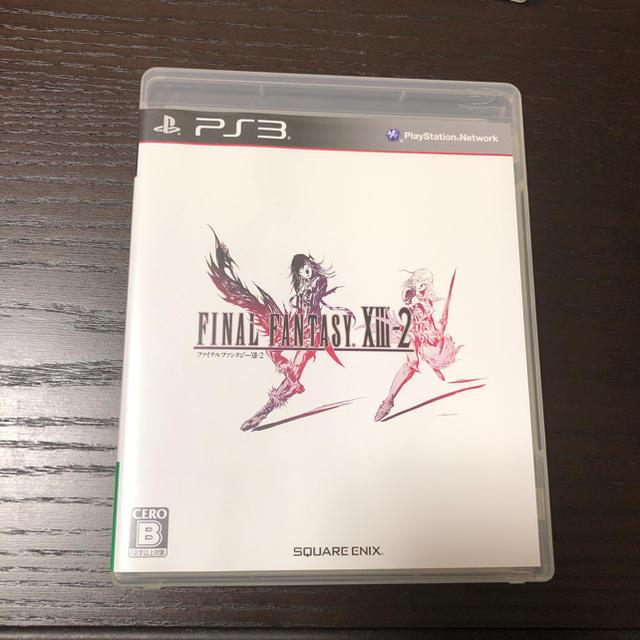PlayStation3(プレイステーション3)のファイナルファンタジーXⅢ /XⅢ-2 エンタメ/ホビーのテレビゲーム(家庭用ゲームソフト)の商品写真