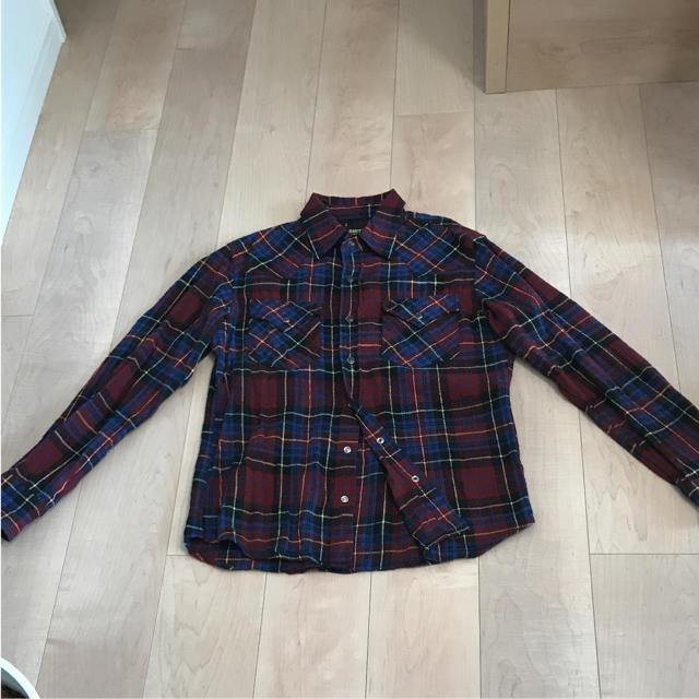 GU(ジーユー)のチェックネルシャツ レディースのトップス(シャツ/ブラウス(長袖/七分))の商品写真